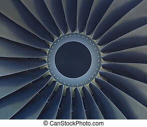 Turbine of airplane engine