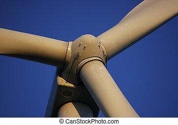 turbine, remonter générateur