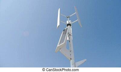 turbine, vent, solaire, energy.