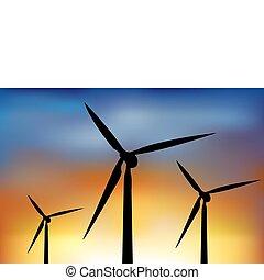 turbiner, vind