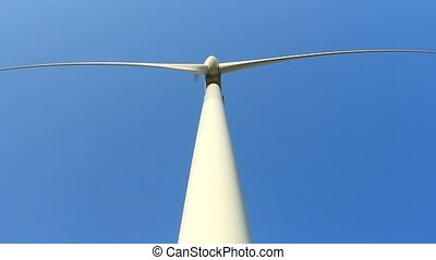 turbines, énergie, vert, vent
