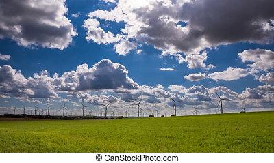 turbiny, wiatr