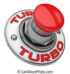 turbo, botón