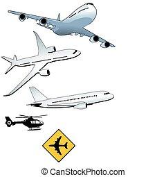 turbo-jet aircraft
