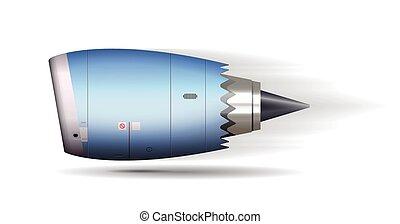 Turbo jet engine concept