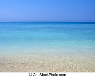 turchese, acque