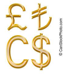 turco, currencies:, dollaro canadese, segni, libbra, lire