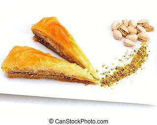 turco, sobremesa, baklava