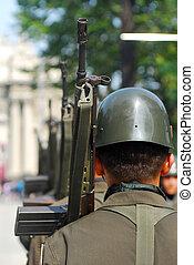 turco, soldados