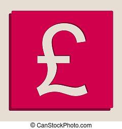 turecký, lira, podpis., vector., grayscale, překlad, o, popart-style, icon.