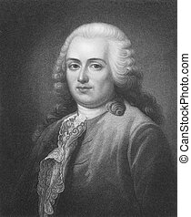 Turgot (1727-1781) on engraving from the 1800s. French...