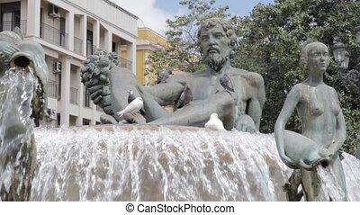 turia, fontanna