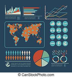 turismo, infographics