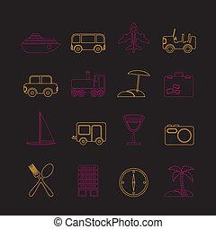 turismo, trasporto, viaggiare