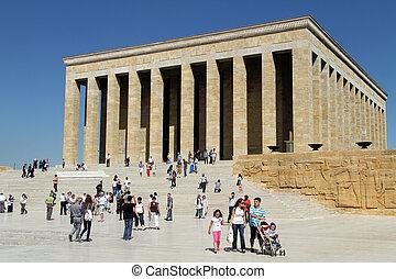 turistas, mausoleo