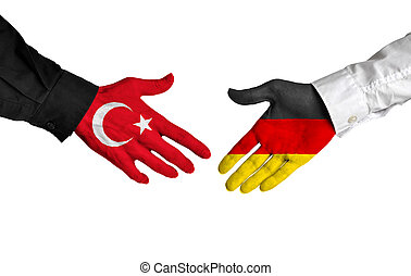 Turkey and Germany leaders