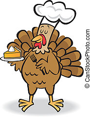 Turkey and Pie - Would you like some pie with that turkey?