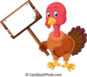 turkey bird cartoon