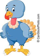 turkey bird cartoon - illustration of turkey bird cartoon