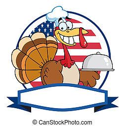 Turkey Bird Chef