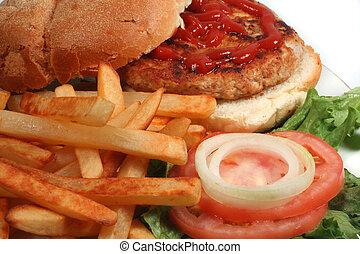 turkey burger - nutritious ground turkey burger and oven...
