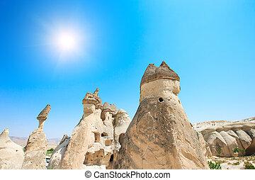 turkey., cappadocia, anatolia