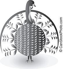 Turkey in thanksgiven day