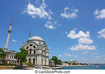 Turkey, Istanbul, Mosque near the Dolmabahce palace