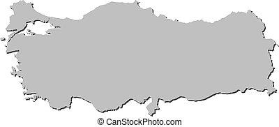 Turkey Map Turkish Maps