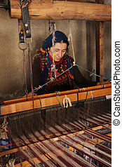 Turkey - middle east traditional weaving work