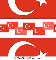 Turkey seamless background