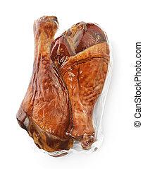 Turkey Smoked Drumsticks - Turkey Smoked Legs In A Vacuum...