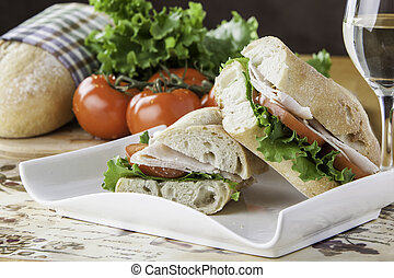 turkey sub sandwich