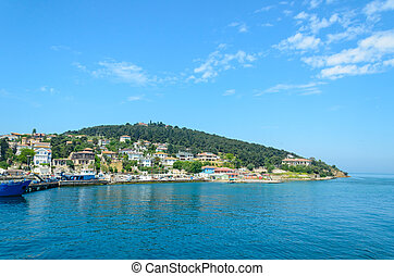 Turkey, the Marmara sea. Princes Islands.