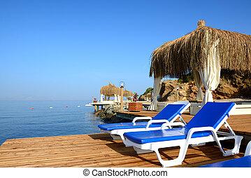 turkije, bodrum, turkse , middellandse zee, vakantiepark, strand