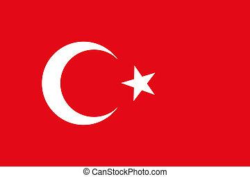 turkije, nationale vlag