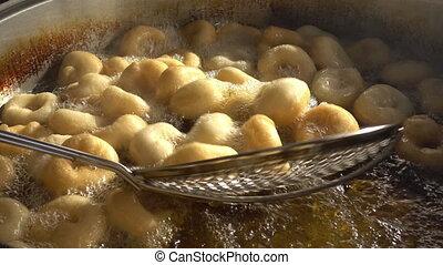 Turkish Anatolia Traditional Sweet Dessert Donut Named Lokma