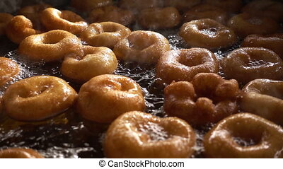 Turkish Anatolia Traditional Sweet Dessert Donut Named Lokma