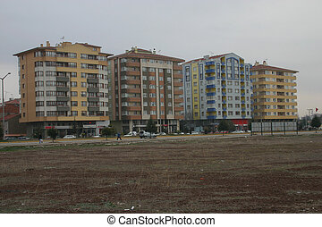 Turkish Appartments - 4 blocks of appartments in Turkish...