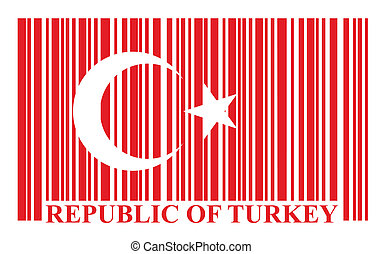 Turkish barcode flag