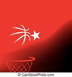 Turkish basketball, vector