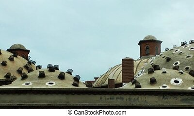 Turkish Bath Roof in Manisa