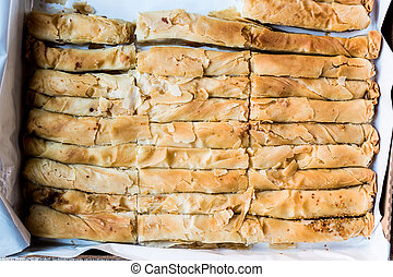 Turkish Borek in a box