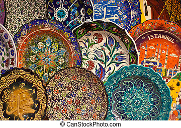 Turkish ceramic art - Hand-made Turkish souvenirs, objects...