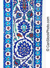 Turkish ceramic Tiles, Istanbul