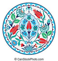 Turkish Ceramic - Antique ottoman turkish ceramic design