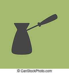 Turkish Coffee Pot Cezve Icon