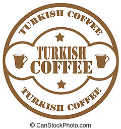 Turkish Coffee-stamp