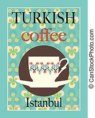 Turkish Coffee Poster Design