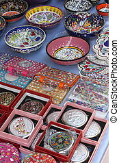 Turkish colorful ceramics
